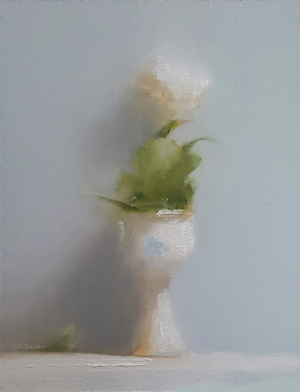 """Rose Goblet"" original fine art by Neil Carroll"