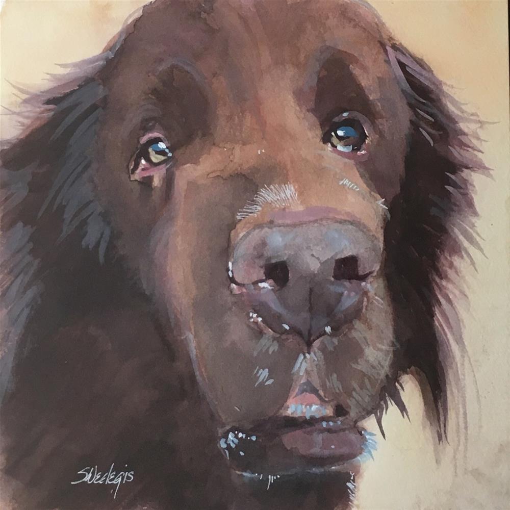 """True Love"" original fine art by Sheila Wedegis"
