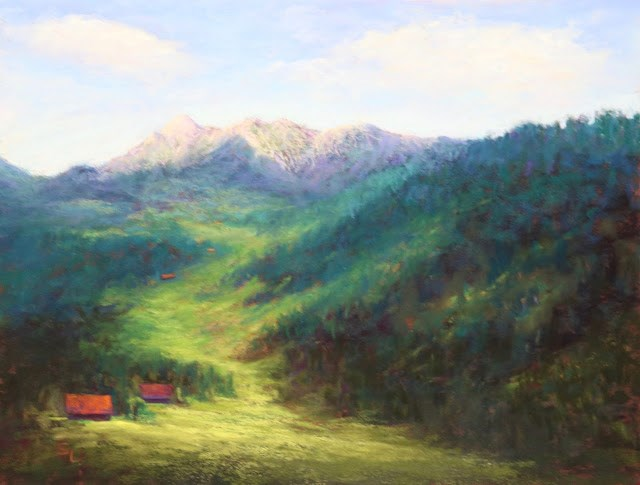 """Beautiful Earth"" original fine art by Sharon Lewis"