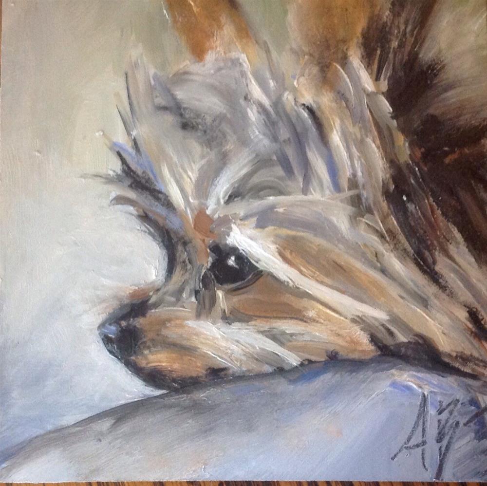 """""""Max"""" original fine art by Annette Balesteri"""