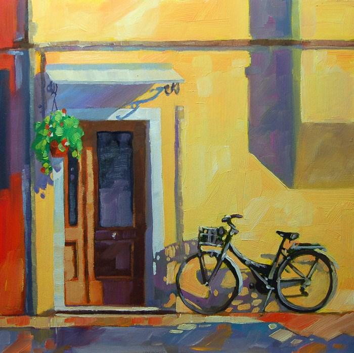 """No 524 Afternoon Light"" original fine art by Robin J Mitchell"