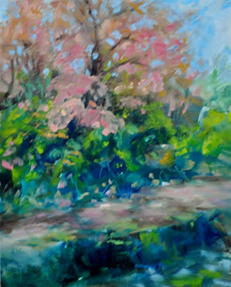 """Crooked Creek"" original fine art by Catherine Crookston"