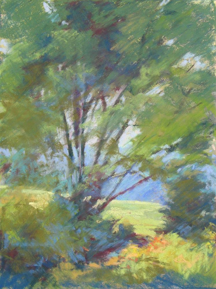 """Forever Dogwood"" original fine art by Marsha Savage"