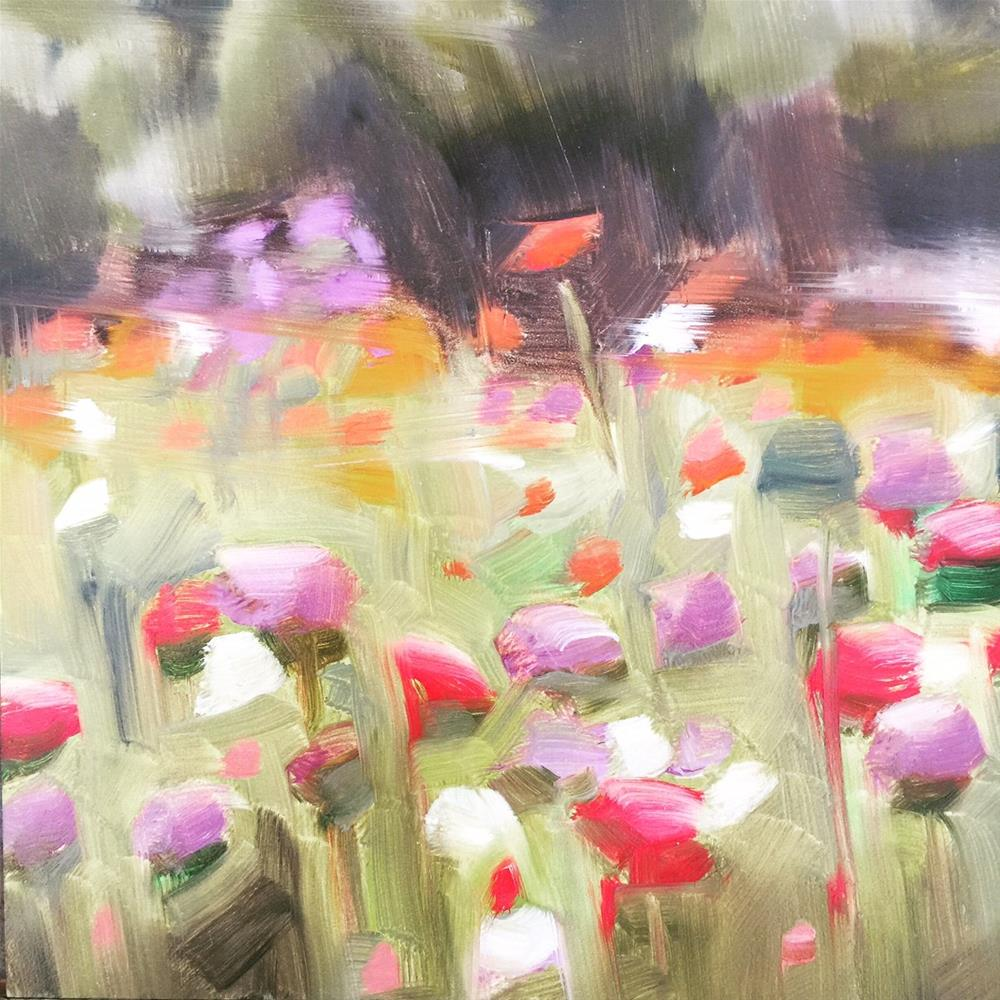 """408 Let the River Run"" original fine art by Jenny Doh"