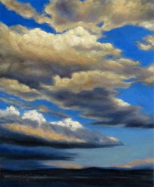 """""""Dynamic Drifters"""" original fine art by Carol Zirkle"""