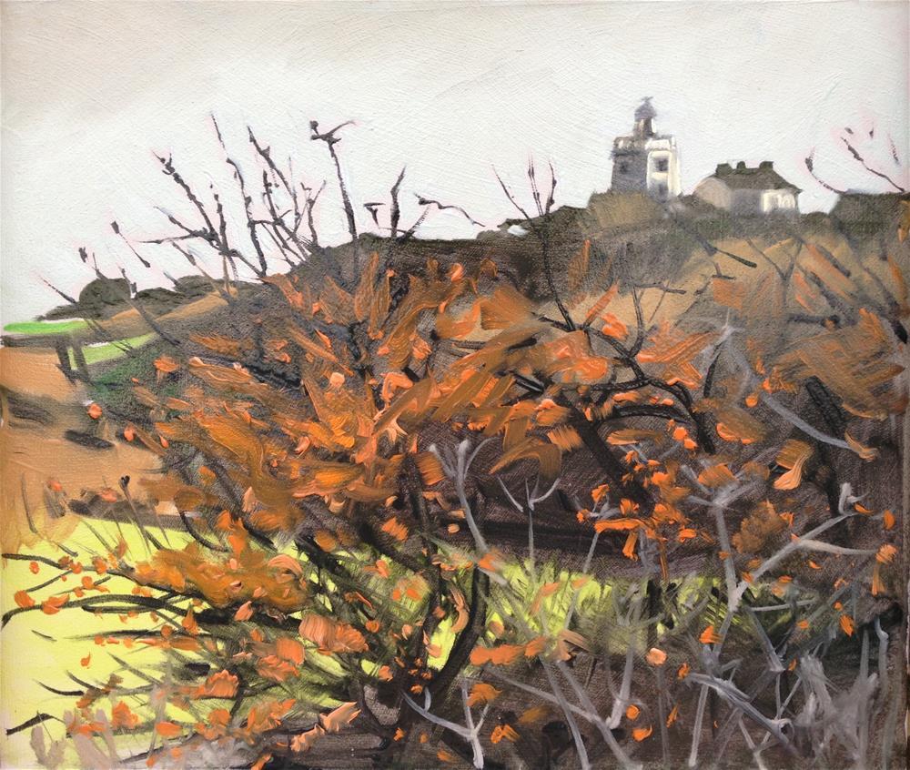 """Cromer Lighthouse #1"" original fine art by Tanya Pawsey"