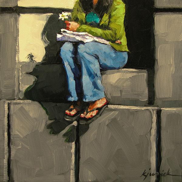 """""""Alledged"""" original fine art by Karin Jurick"""