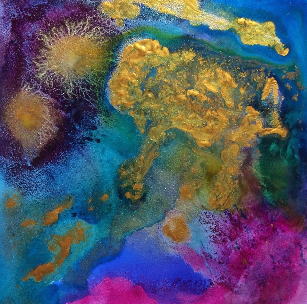 """Anemone"" original fine art by Susan Medyn"