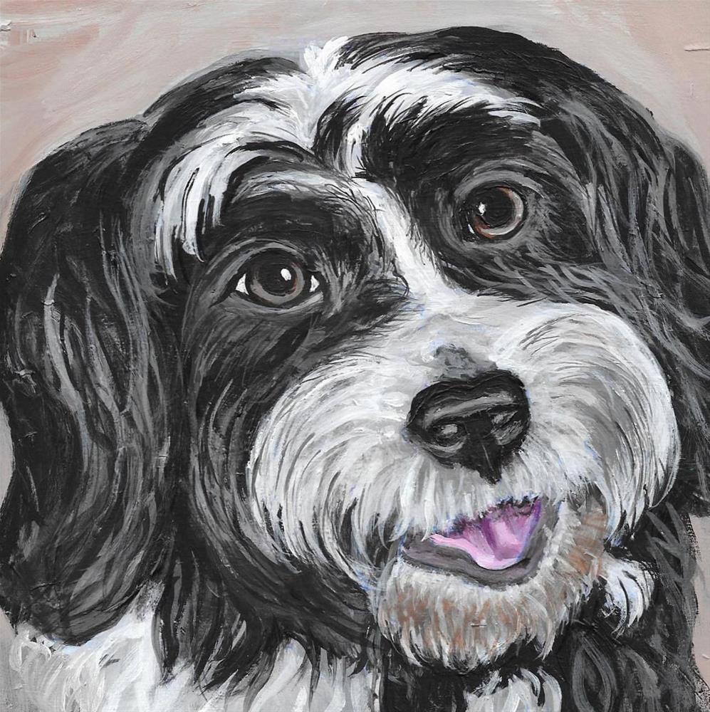 """""""Lexie"""" original fine art by Lisa Wiertel"""
