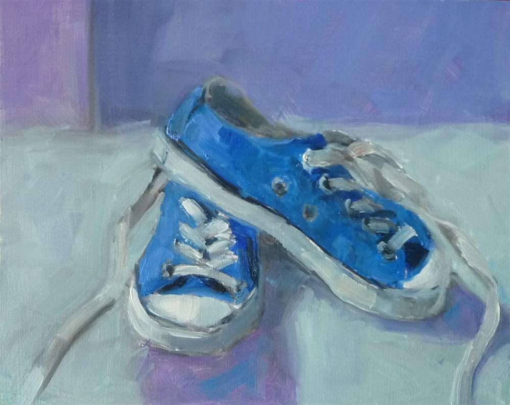 """Baby Blues"" original fine art by Carol Josefiak"