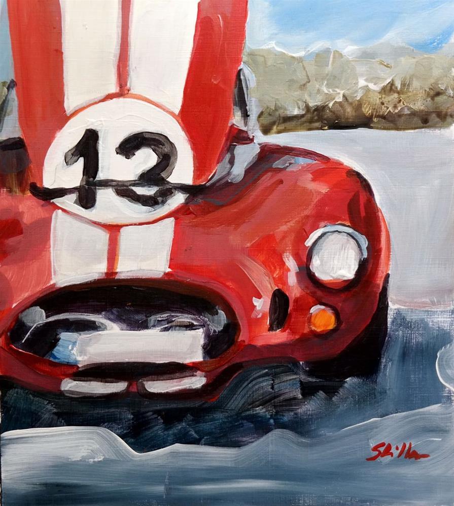 """1838 Number 13 Front"" original fine art by Dietmar Stiller"