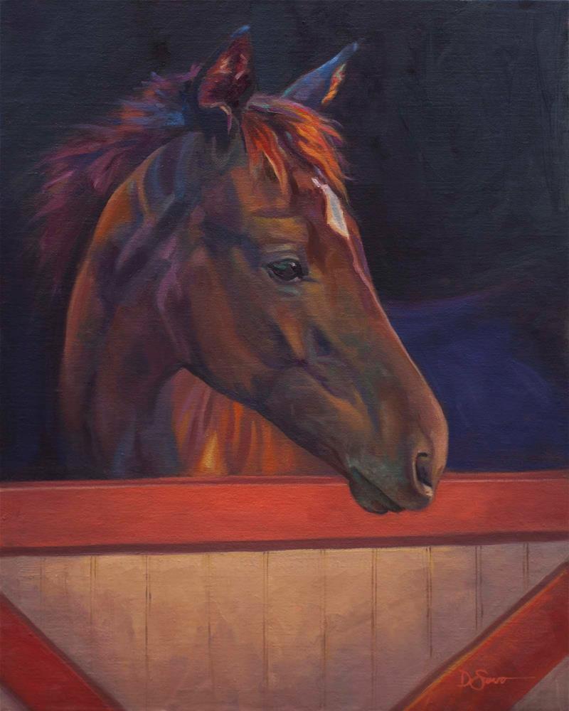 """Havanna Skye"" original fine art by Deborah Savo"