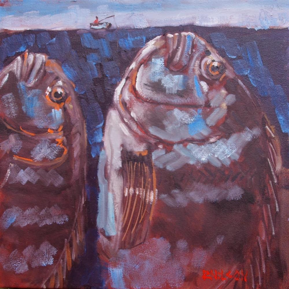 """Foxtrot Tango"" original fine art by Rick Nilson"