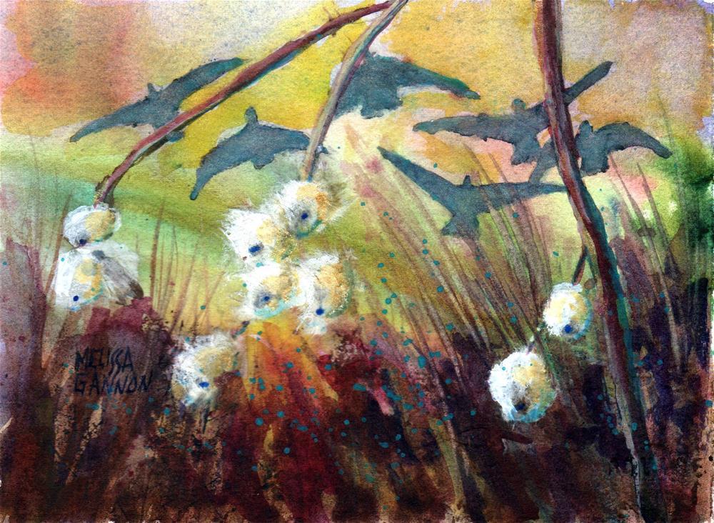 """""""Snowberry Welcome"""" original fine art by Melissa Gannon"""