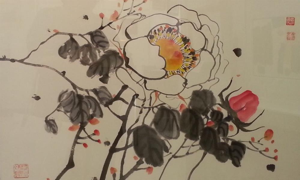 """Peonies"" original fine art by Sunkyung Choi"