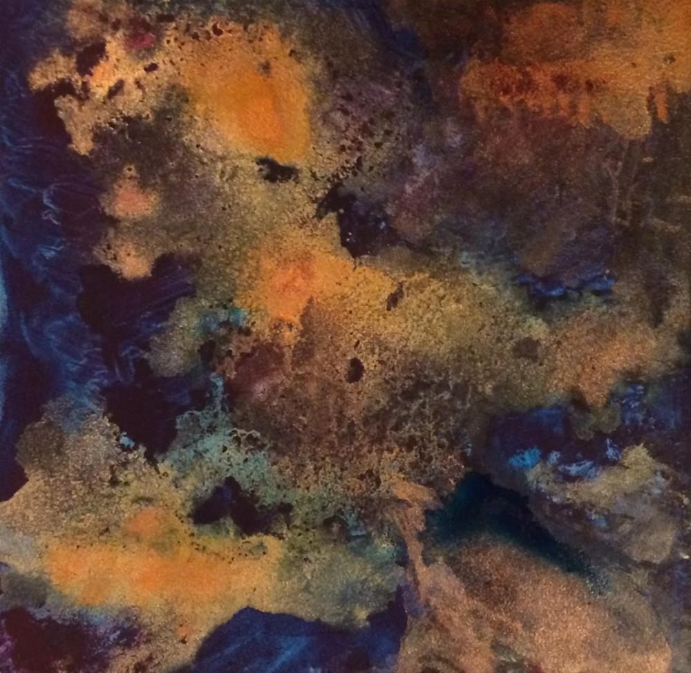 """Confluence"" original fine art by Susan Medyn"