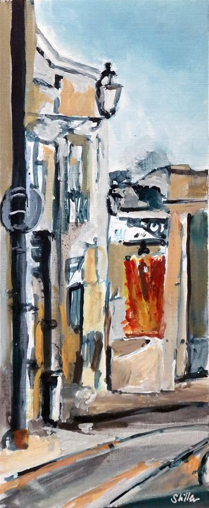 """2438 No Tram"" original fine art by Dietmar Stiller"
