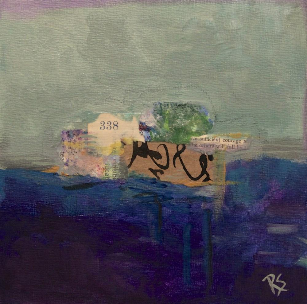 """Sufficient Courage"" original fine art by Roberta Schmidt ArtcyLucy"