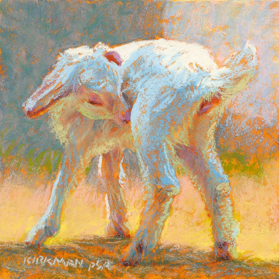 """Day 5 - Albina"" original fine art by Rita Kirkman"
