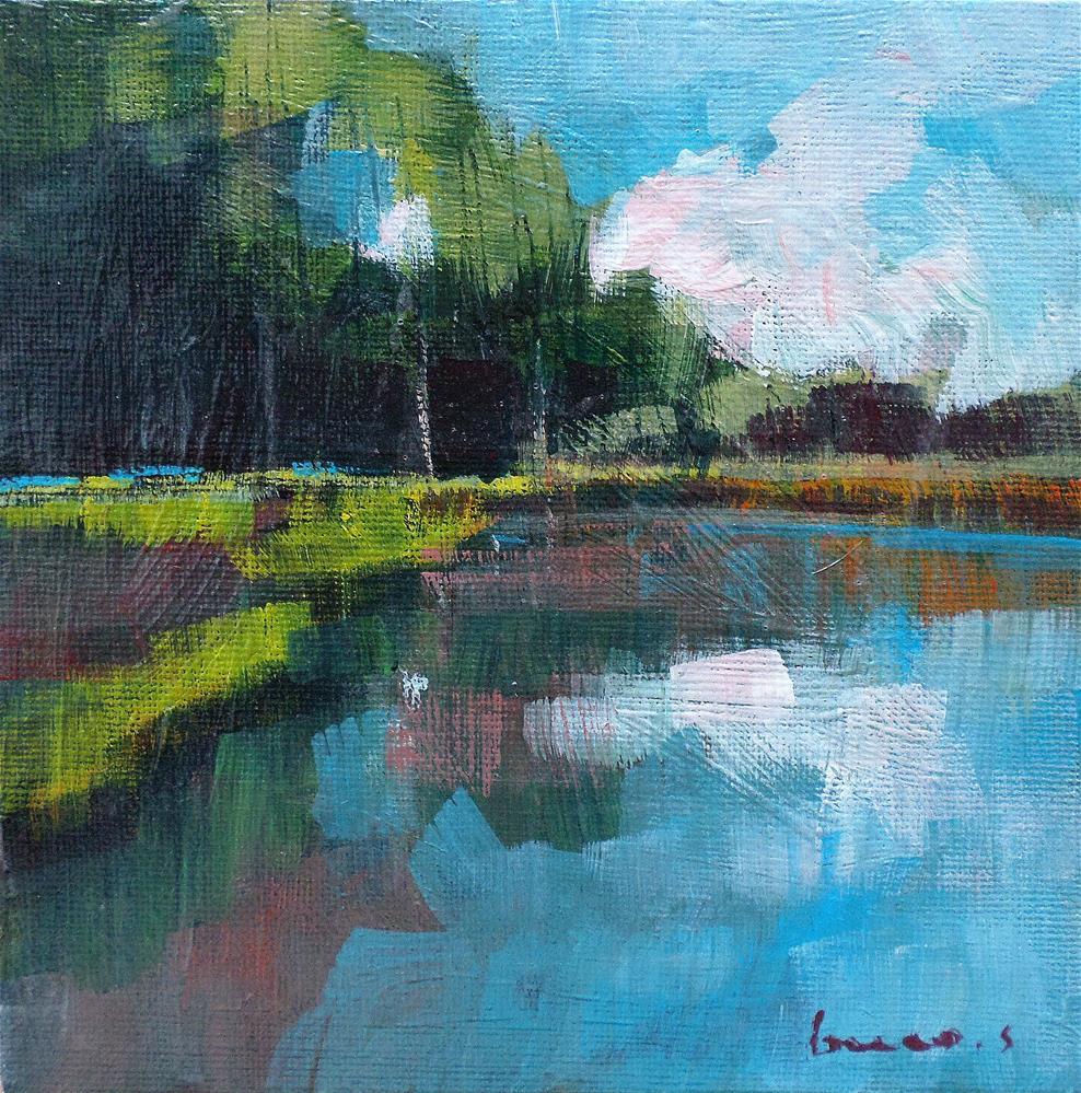 """""""Reflection"""" original fine art by salvatore greco"""