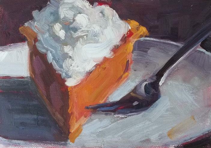 """All Mine!"" original fine art by Deborah Newman"