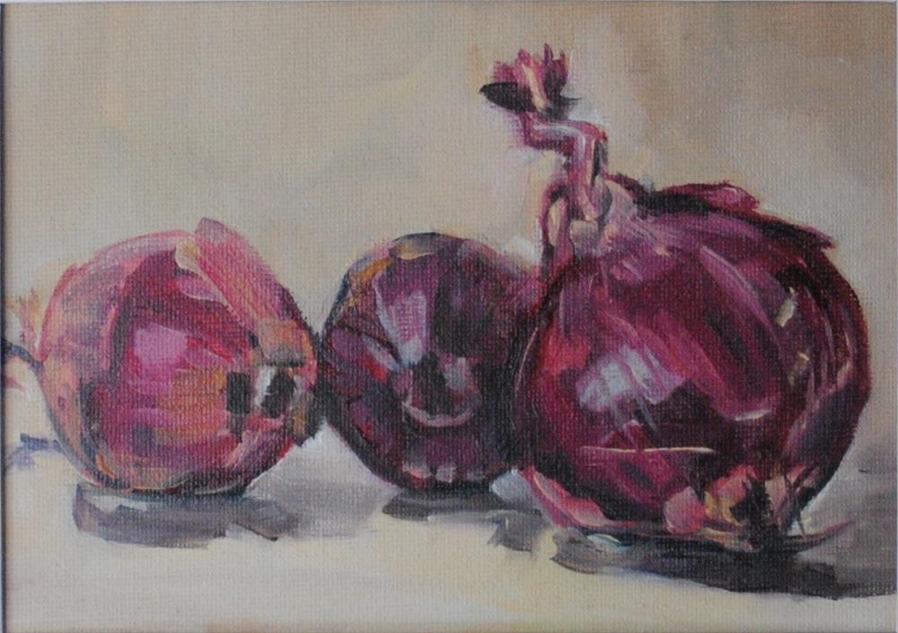 """Dancing Trio"" original fine art by Tamanda Elia"