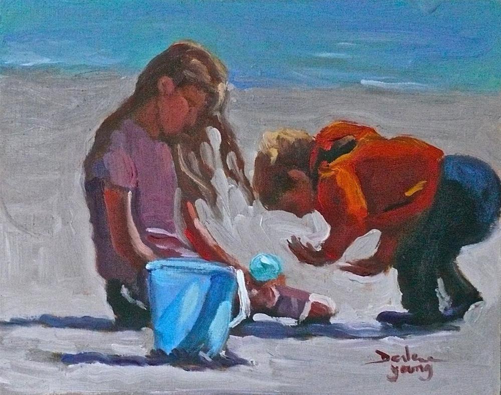 """754 Wow!"" original fine art by Darlene Young"