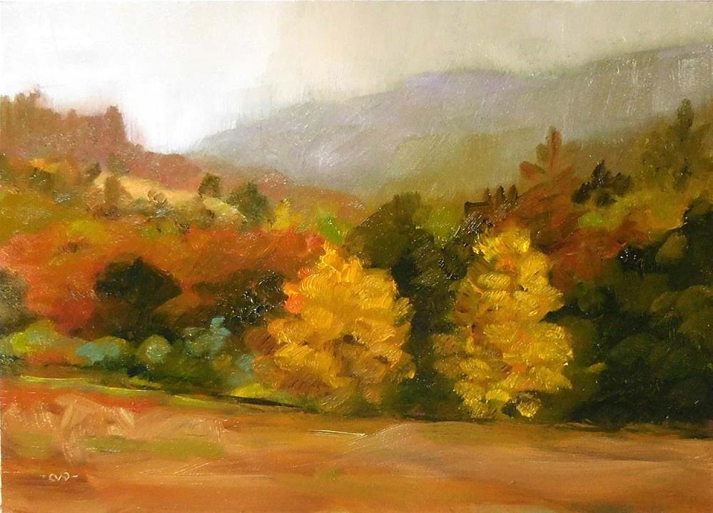 """Fall Colors In Briceland"" original fine art by Cietha Wilson"