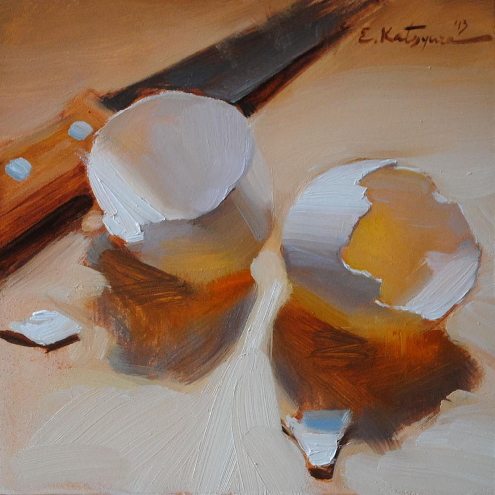 """""""Split Shells"""" original fine art by Elena Katsyura"""