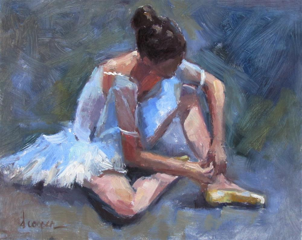 """The Dancer"" original fine art by Dana Cooper"