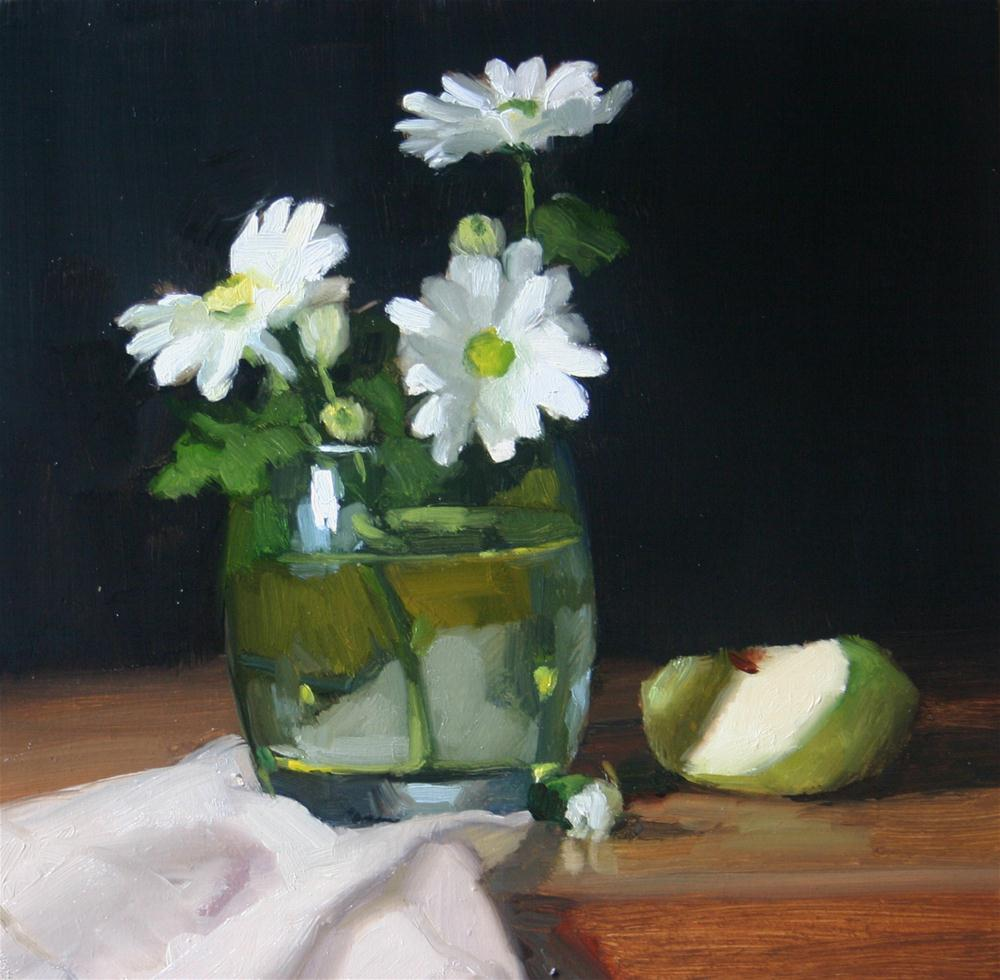 """Fresh as a daisy"" original fine art by Liz Balkwill"