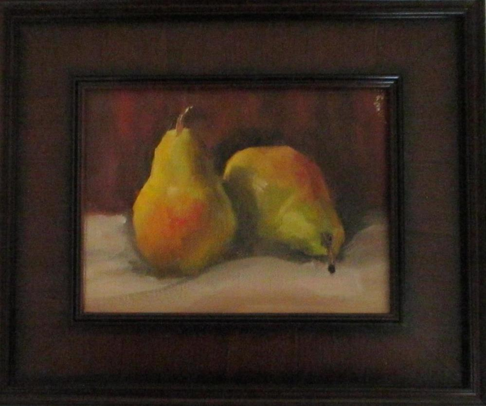 """Quite a pair"" original fine art by Linda Carney"