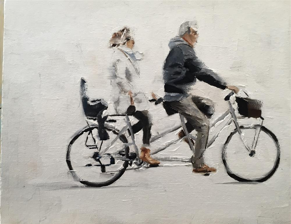 """Tandem"" original fine art by James Coates"