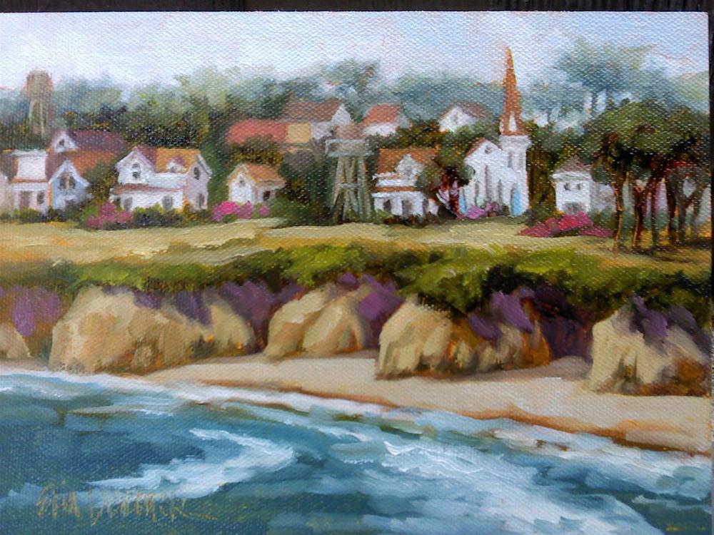 """Beautiful Berg"" original fine art by Erin Dertner"