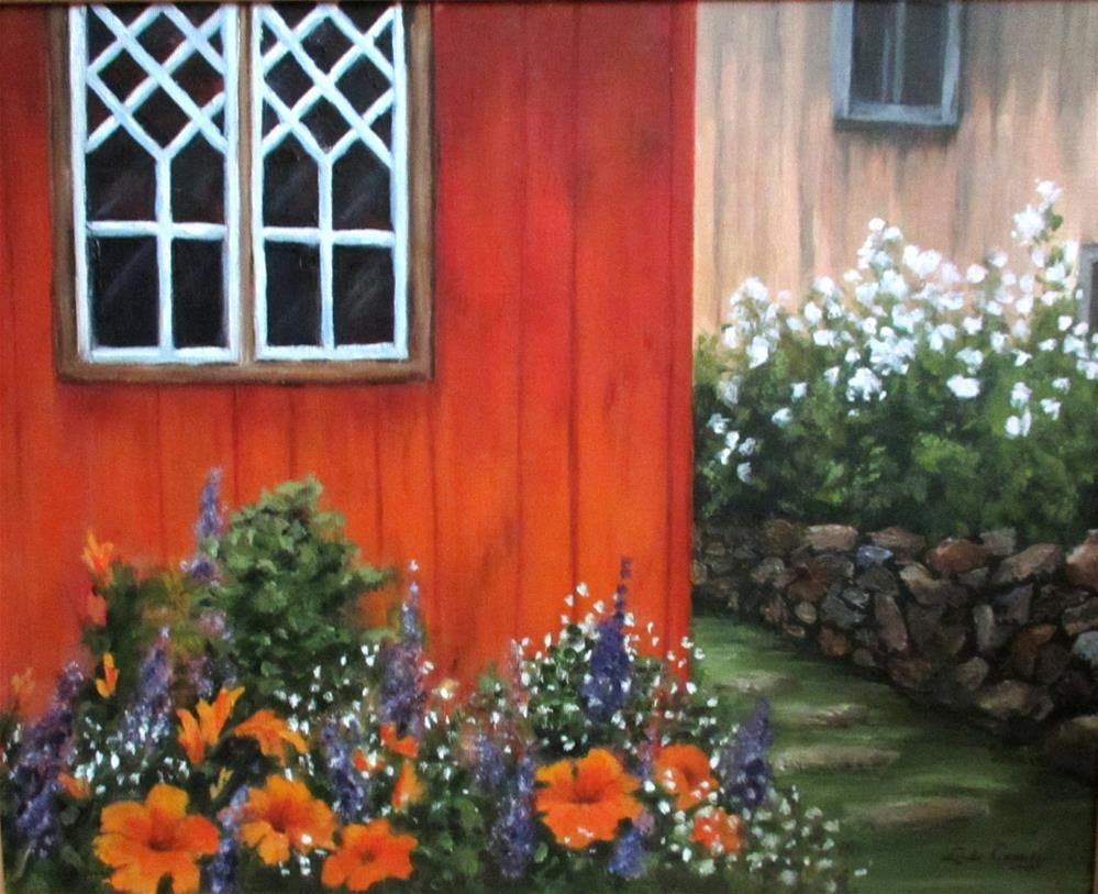 """Afternoon Sunshine"" original fine art by Linda Carney"
