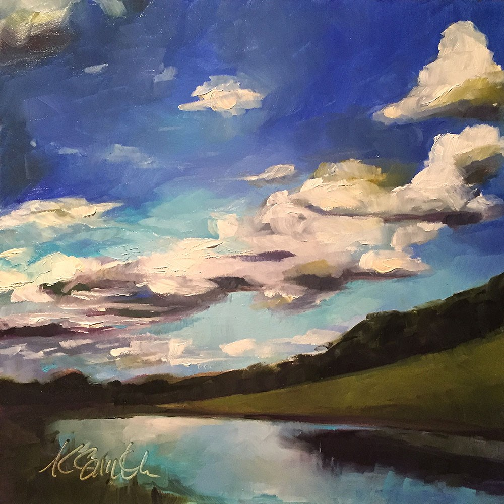 """""""seeing for miles"""" original fine art by Kim Smith"""