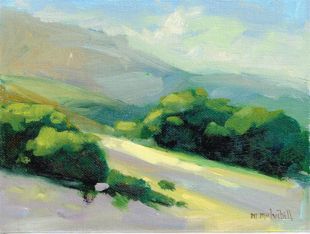 """Last Light, Santa Rosa Plateau"" original fine art by Mary Mulvihill"