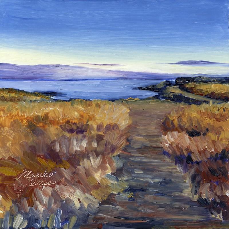"""A Trail"" original fine art by Mariko Irie"