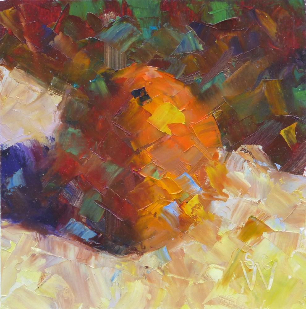 """The Works"" original fine art by Susan Woodward"