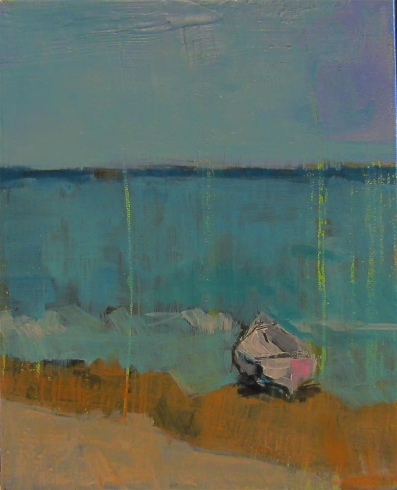 """The Boat"" original fine art by Kristina Davidson"