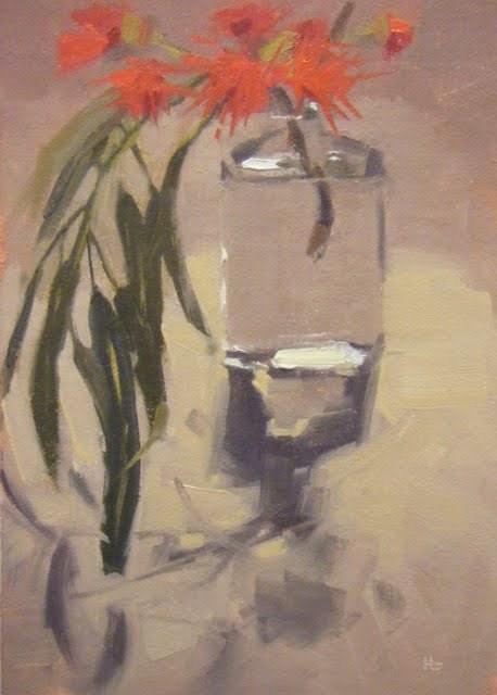 """""""SUMMER GUM"""" original fine art by Helen Cooper"""