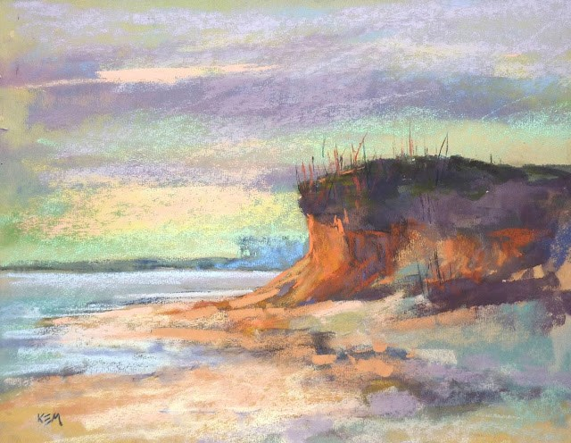 """Preserving a Watercolor Underpainting"" original fine art by Karen Margulis"