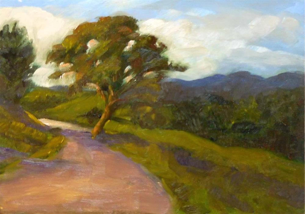 """Looking Back"" original fine art by Cietha Wilson"