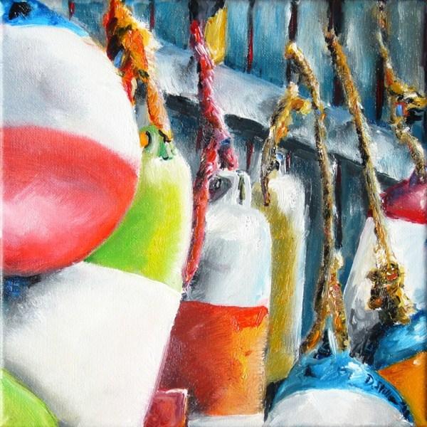 """""""0008 Yukon Bay"""" original fine art by Dietmar Stiller"""