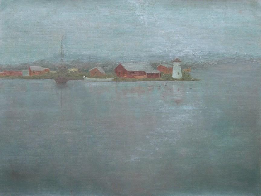"""A Grey Day"" original fine art by Nina Brodsky"