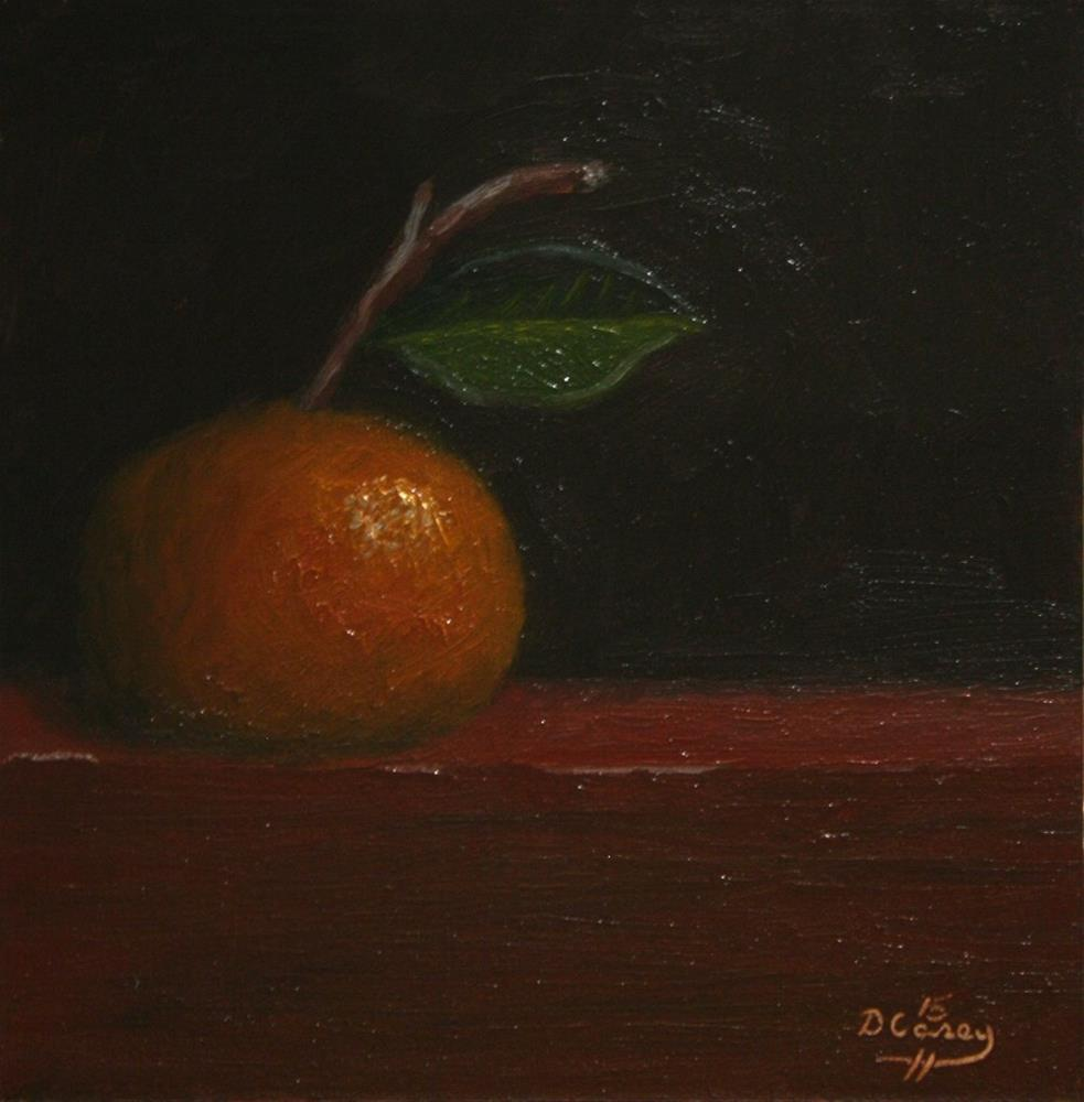 """Tangerines 009"" original fine art by Dave Casey"