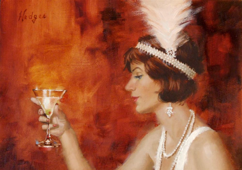 """""""Martini"""" original fine art by Bruce Hedges"""