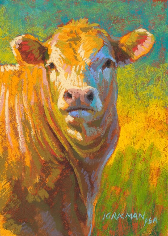 """Muffin"" original fine art by Rita Kirkman"