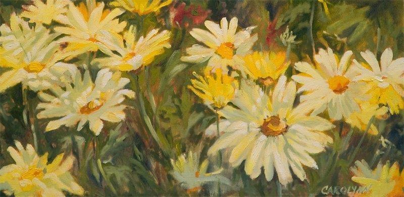 """Basking In The Sunlight"" original fine art by Carolynn Doan"