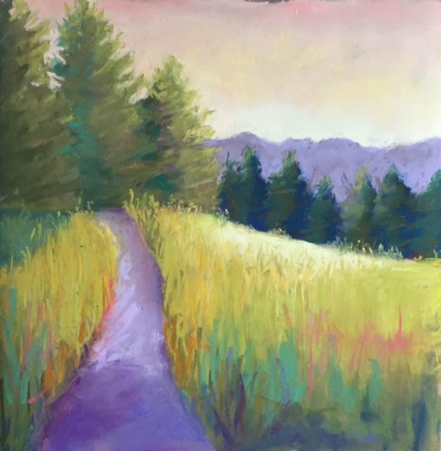 """""""Wilderness Trail"""" original fine art by Sandi Miller"""